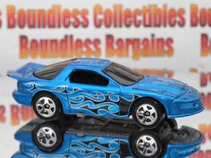 HOT WHEELS loose = BABY BOOMER = BLUE w//t flames