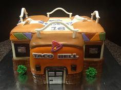 Taco Bell Wedding, Anna Cake, Sweet 16 Cakes, Cake Gallery, How To Make Cake, Birthday Cakes, Cake Recipes, Cake Decorating, Tacos