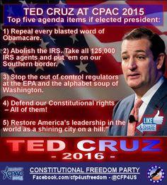 92 best Ted Cruz images on Pinterest | Conservative politics ...