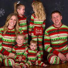 Special Delivery Christmas Flapjacks PJs  by prettymefancyshop
