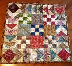 Small quilt - Humble Quilts Blog