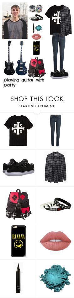 """Playing Guitar with Patty Walters"" by justkittyfanggyg ❤ liked on Polyvore featuring Yves Saint Laurent, Etnies, 6397, Casetify, Lime Crime, outfit, pattywalters and asitis"