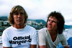 Party boys...James Hunt & Barry Sheene 1977 Monaco