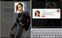 Maz, a startup that helps publishers design iPad magazine apps, has launched a feature that lets readers clip part of a page and share it to Pinterest.