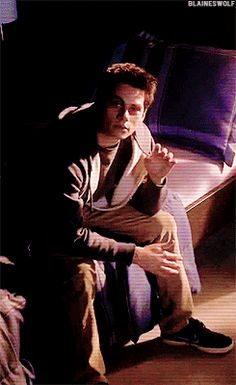 Still really creepy... Stiles Teen wolf | @Celebritiies