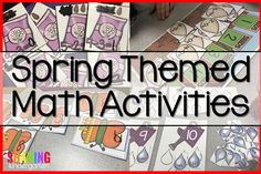 Spring Into Math Fun with Spring Themed Math Activities by reviewing all those math skills on a regular basis. It is just smart to keep activities reviewing of all those important skills, even as you are building on new skills while we Spring into Math Fun! Check out these hands on Spring Themed Math Activities …