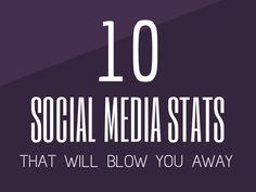 10 Social Media Stats That Will Blow You Away