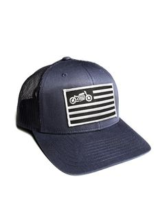 c1c1801b united moto flag patch hat for motorcycle owners curved bill Motorcycle  Flags, Cafe Racer Motorcycle
