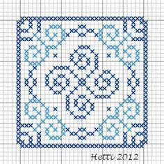 Creative Workshops from Hetti: SAL Delfts Blauwe Tegels, Deel 5 - SAL Delft Blue Tiles, Part 5., Tile 5