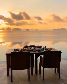 Experience your dream vacation at Six Senses Yao Noi! You're currently staring at the perfect seasca Best Sunset, Beautiful Sunset, Beautiful Places, Beautiful Hotels, Amazing Destinations, Travel Destinations, Travel Trip, Beach Travel, Luxury Travel
