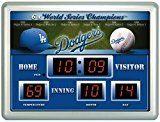 Los Angeles Dodgers Scoreboard Clock