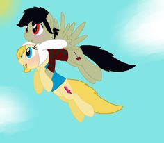 Fiolee Comics English | Flying High (fiolee ponyfied) by ~FennecFoxLuver on deviantART
