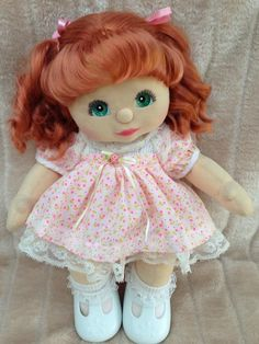 MY Child Doll RED Ringlet Aussie Euro Aqua Charcoal Minty