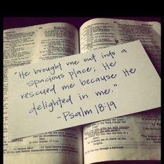 Psalm 18:19 <3