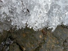 Ice and rocks