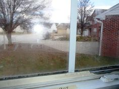 Another common inspection find is broken thermal seals at windows. Condensation build-up in between the layers of glass are your sign to replace.