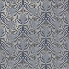 Varano is a luxurious genuine Italian heavyweight vinyl design. It features an raised Art-Deco geometric shape which has fine delicate stitch work on the surface of the pattern, and a horizontal stitch-effect in the background. The Art Deco shape is highlighted with a metallic shadow. #ArtDecoWallpaperPatterns Vinyl Wallpaper, Classy Wallpaper, Navy Wallpaper, Metallic Wallpaper, Wallpaper Direct, Brick Wallpaper, Geometric Wallpaper, Wallpaper Samples, Blue Wallpapers