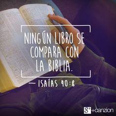 Isaías 40:8 Sécase la hierba, marchítase la flor; mas la palabra del Dios…
