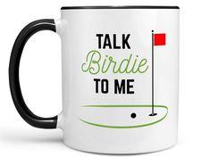 Golf Mug > Talk Birdie to Me Coffee Mug > Golf Gift > Golfing Mug > Golfing Cup > Golf Travel Mug > Coffee Mug for Golfer > Coffee Cup Nurse Mugs, Nurse Gifts, Coffee Cup Photo, Coffee Cups, Travel Mug Coffee, Travel Mugs, Cheap Vinyl, Travel Nursing, Golf Gifts