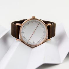 The Simpl One watch is part of the latest collection by Thai-based brand Simpl. #watches #design