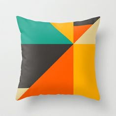 Balancing Act #3 Throw Pillow by Jazzberry Blue - $20.00