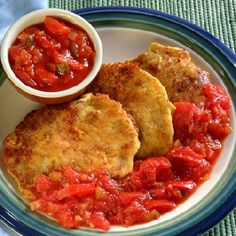 Chile Corn Pancakes With Salsa | Ortega