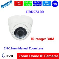 """47.00$  Watch here - http://aiyny.worlditems.win/all/product.php?id=32599211504 - """"Video Surveillance IP dome Camera HD 1/4"""""""" OV  1.0MP Manual Lens  POE  H.264 WDR ONVIF IOS Android P2P,"""""""