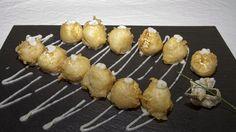 Platos Telero Gandia - Telero Restaurantes en Gandia Con Encanto - Donde Comer bien en Gandia - Buñuelos De Brandada De Bacalao