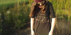 DIY: Schrijven met bleek #shirt Zie huisvanbelle.nl voor beschrijving !