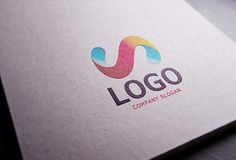 Realistic Paper Logo MockUp (22.1 MB) | free-designs.net | #free #photoshop #mockup