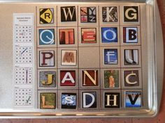 The Alphabet Place @ The Rondo Library by Amy Unger, via Behance