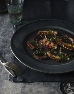 Octopus Photography by Sarah Anne Ward Food Styling by Lauren LaPenna Prop Styling by Paola Ramirez