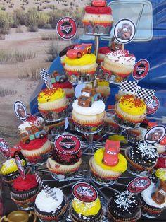 """Photo 7 of 71: Disney Pixar Car's Party / Birthday """" Raceway""""   Catch My Party"""