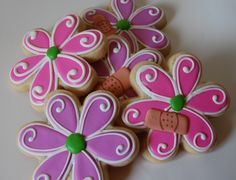 Sugar Cookie Cutout, Peanut Butter Cup Cookies and Cinnamon Bites with Great Value Brand Products Fancy Cookies, Cute Cookies, Easter Cookies, Birthday Cookies, Cupcake Cookies, Summer Cookies, Cookie Favors, Heart Cookies, Valentine Cookies