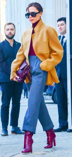 Victoria Beckham Just Wore the One Item That Always Looks Expensive #victoriabeckham #lookbook #lookoftheday #celebrities #streetstyle