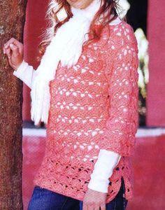 Crochet: Sweater (Spanish).