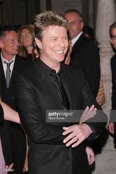 David Bowie during 2005 CFDA Fashion Awards - Inside Arrivals at New York Public Library in New York City, New York, United States.