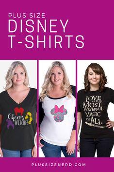 647e9ce6b0e7 Dreams Come True in These Plus Size Disney Shirts for Women