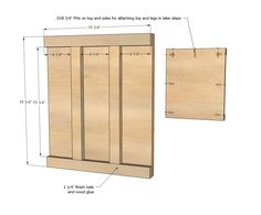 Ana White | Build a Wide Cabin Dresser Metal Slides | Free and Easy DIY Project and Furniture Plans