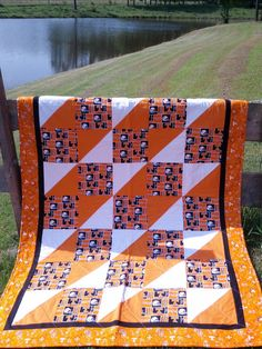 University of Tennessee Go Vols Quilt in Multi by NeNesQuilts, $148.00