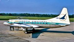 Convair 580 - the first Republic airplane I flew on after beginning my job there.