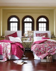 Vera Bradley Bedding collection launches June 28. Maybe next time we'll have a little girl!