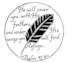The passage, not that feather.