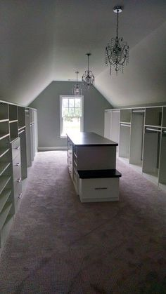 Closets with Sloped Ceilings -