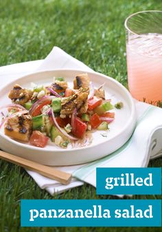 Grilled Panzanella Salad – This classic Tuscan dish includes French ...