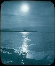 Moonlight, Shackleton - Rowett Expedition, Antarctica, 1921-1922 | Flickr - Photo Sharing!