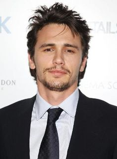 James Franco with work in progress look going on.