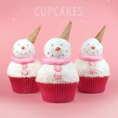Snowman Baked Goods - Winter Holiday Desserts - Redbook