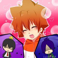 Tsuna cuuteee! Lol Hibari and Mukuro's reactions though | Katekyo Hitman Reborn #khr