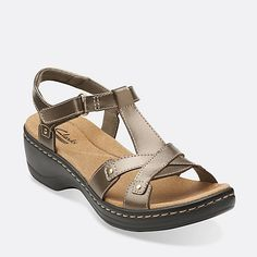 2005b5e09e4d Hayla Flute Pewter Leather Open Toe Sandals
